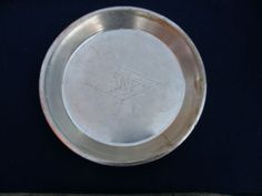 Vintage Westchester Country Club Rye NY 11 1/2 inch Tin pie plate & Vintage Pie Pan Pie Plate -- Kitchen Made Pie Tin | Pinterest | Pie ...