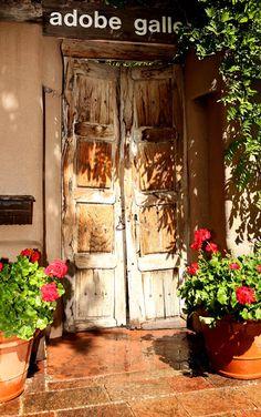 My favorite photo of a doorway in Santa Fe.