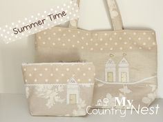 My country nest: Summer time clutch