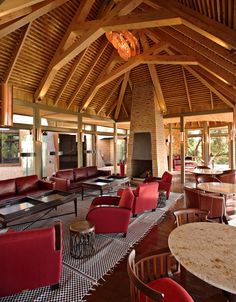 Angama Mara Safari Lodge in Kenya by Silvio Rech and Lesley Carstens and ID Annemarie Meintjes