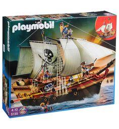 Jouets Galeries Lafayette, achat Playmobil Bateau d'attaque 5135 Playmobil en multicolore prix promo Galeries Lafayette 67.49 € TTC au lieu de 74,99 €