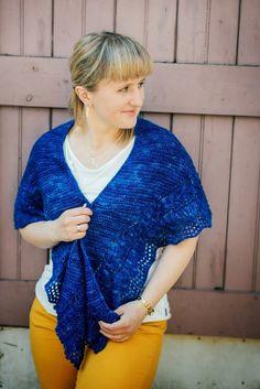 Forever More Shawl knitting pattern PDF English by LetesKnits, $5.00