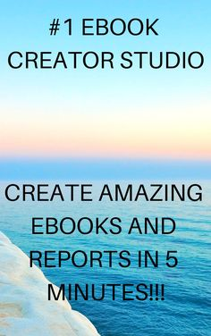 Creates Amazing eBooks & Reports In 5 MINUTES Without Typing Any Words! Creator Studio, The Creator, Way To Make Money, Make Money Online, Table Of Contents Page, Cash From Home, Content Page, World 1, Call To Action