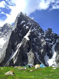 I'm pretty sure I could live the rest of my life in that tent. So beautiful. God is so awesome! (Himalaya)
