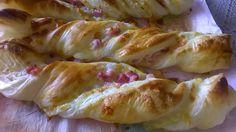 Na cozinha com a Filipa: Torcidos de queijo e bacon