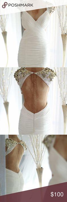 Jovani 72679 white bandage dress Jovani 72679 white bandage dress Jovani Dresses Mini