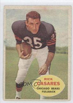 9f291593dcd Rick Casares COMC REVIEWED Good to VG-EX Chicago Bears (Football Card) 1960