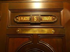 """Box 5 in the Paris Opera house has a plaque saying """"lodge of Phantom of the opera"""" in french. I need to go there!!!"""