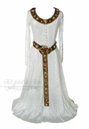 Vestido medieval.
