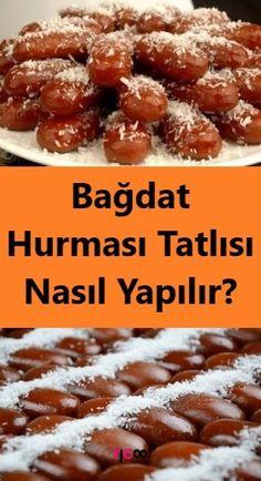 Wie Bagdad Date Dessert machen? Bagdad, Turkish Delight, Breakfast Items, Turkish Recipes, Beautiful Cakes, Cake Recipes, Almond, Yummy Food, Eat