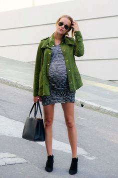 Casual but chic, pregnant style #top10md