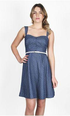 Dresses - Denim Spot 50s Dress - Pagani
