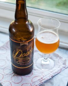 Beer Review:  Doom from Founders Brewing Co. Grand Rapids, MI (Bourbon-barrel-aged Imperial IPA, 10% ABV)
