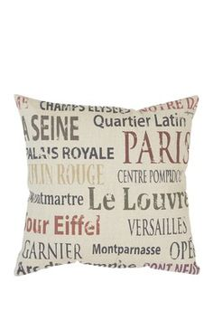 don't love the coloring of this fabric, but pillows with script on them are so cute! we could also get some white pillows and paint harry potter quotes on it like this with fabric paint! ADORABLE!