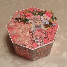 Sent in by Margaret Redfern Your Cards, Decorative Boxes, Display, Lace, Home Decor, Floor Space, Decoration Home, Billboard, Room Decor