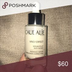 Caudalie vinoperfect A franchise high end skin care item. This serum gives your skin amazing radiance. Caudalie Makeup