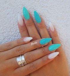 ✔ 40 cute acrylic nails designs to inspire your winter holiday . ✔ 40 cute acrylic nails designs to inspire your winter holiday Cute Acrylic Nail Designs, Cute Acrylic Nails, Nail Art Designs, Nails Design, Acrylic Nails For Holiday, Winter Acrylic Nails, Mint Nail Designs, Turquoise Nail Designs, Summer Holiday Nails