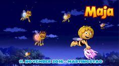 Auch die Biene Maja feiert den Martinstag! Laterne, Laterne, Sonne, Mond und Sterne....
