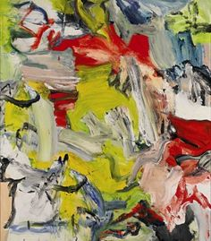 Willem de Kooning's Untitled XXI (1976)