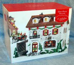 "St. Nicholas Square ""Winter Winery"" Illuminated Building for Holiday Village_New"
