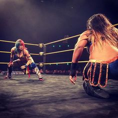 wwenxt @wwe_asuka faces an opponent that could perhaps be the biggest threat to her #NXTWomensChampionship thus far, @wwe_embermoon. #NXTGoldCoast  2016/12/11 20:46:05