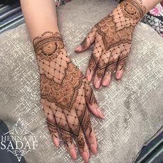 Bridal henna for the beautiful Misbah 🌹🌹 - HENNA mehndi - Henna Designs Hand Henna Hand Designs, Dulhan Mehndi Designs, Mehndi Designs Finger, Pretty Henna Designs, Indian Henna Designs, Modern Henna Designs, Latest Henna Designs, Mehndi Design Photos, Beautiful Mehndi Design