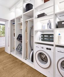 58 Stylish Laundry Room Design Ideas To Inspiring You > Fieltro.Net room ideas modern stylish laundry room design ideas to inspiring you 10 > Fieltro. Room Arrangement Ideas, Laundry Storage, Storage Room, Room Design, Laundry Mud Room, Home, Stylish Laundry Room, Room Remodeling, White Rooms