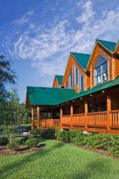 Suwannee River Log Home Madison