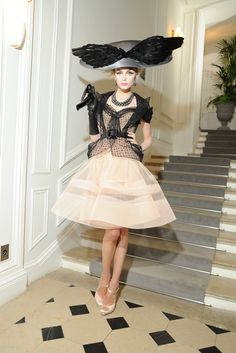 Christian Dior Haute Couture | The Ladies who eat other ladies for lunch.