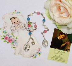 Unbreakable Catholic Relic Chaplet of St. Gerard Majella - Patron Saint of Expectant Mothers, Pro-Life Movement, the Unborn and Toddlers by foodforthesoul on Etsy