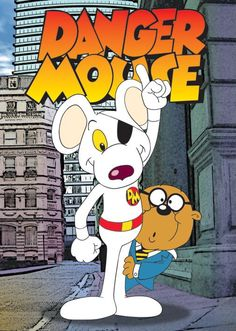 Dangermouse! Cartoon, for years I thought that Penfold was a mole..
