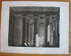 DESCRIPTION DE L'EGYPTE, 1809, ESNE (LATOPOLIS).