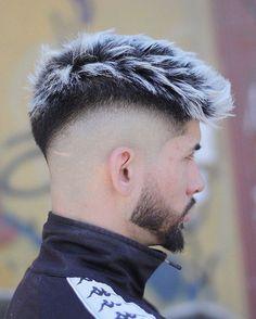 Stunning Haircuts for Men - Vincisjournal Trendy Mens Haircuts, Cool Hairstyles For Men, Cool Haircuts, Hairstyles Haircuts, Hairstyle Ideas, Young Men Haircuts, Bridal Hairstyle, Curly Hairstyle, Mens Hair Colour