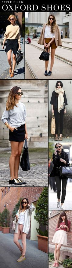 Style File: Oxford Shoes | theglitterguide.com