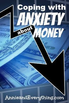 Coping with anxiety about money can be difficult and lonely. Here are my tips to help!