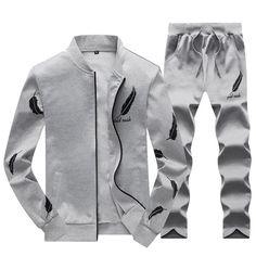 57240bc16d3 Sweatsuit Men Clothing Tracksuit Set Crossfit 2018 Men s Set Spring Summer  Men Tracksuit Sportswear 2 Piece