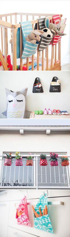 Süße Aufbewahrung fürs Kinderbett