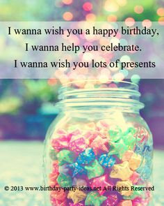 1000 Images About Birthday Quotes On Pinterest Happy I Want To Wish You A Happy Birthday
