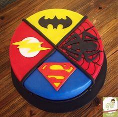 Superheroes Cake! By Cakesbyme