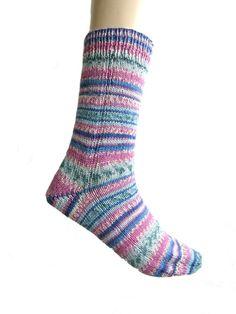 Sokken roze-blauw-groen Arne & Carlos Regia door Carolinevantveer