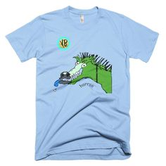 Horrse Green Short sleeve men's t-shirt