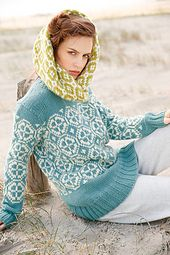 Ravelry: # 11 Pullover mit Jacquardmuster pattern by Rebecca Design Team