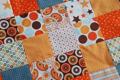 Riley Blake All Star2 COUTURE Baby Quilt by Dancingangelsquilts, $34.98