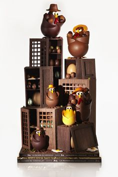 chocorico @ la maison du chocolat #EASTER #CHOCOLATE