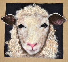 Original textile wall hangings by artist Alison Murphy.