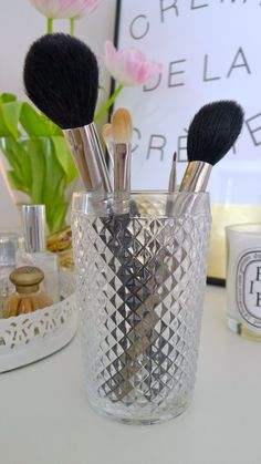 Keep it clean Natural Beauty and learn  How To Clean Your Makeup Brushes via @Glitter Guide
