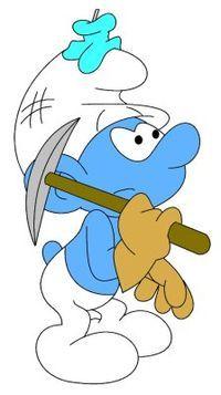 Miner Smurf
