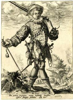 Солдаты,офицеры, ландскнехты. 15-16 век: landsknechts