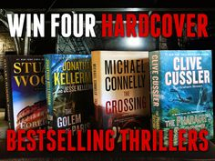Win Four Bestselling Hardcover Thrillers  http://www.craigahart.com/giveaways/win-four-bestselling-hardcover-thrillers/?lucky=3018