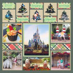 Pattern Gallery - Mosaic Moments Page Layout System Scrapbook Examples, Scrapbook Templates, Scrapbook Sketches, Scrapbook Cards, Travel Scrapbook Pages, Vacation Scrapbook, Christmas Scrapbook Layouts, Scrapbooking Layouts, Christmas Mosaics